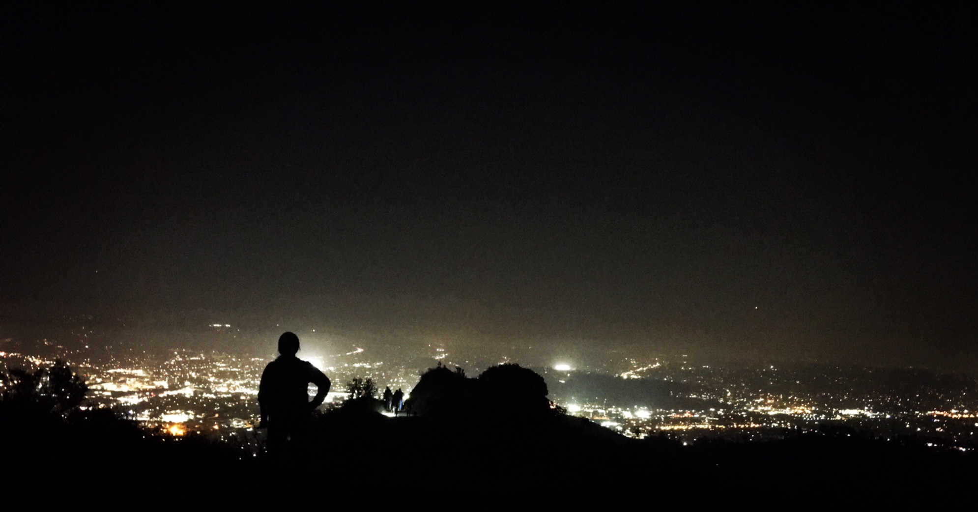 Donu0027t You Love The Company Of The Mountain Lions (from Afar), Night Sky,  And City Lights Once Youu0027ve Reached The Peak?